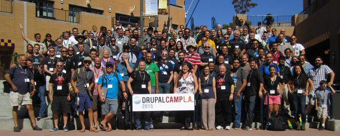 DrupalCamp LA 2015 Group photo